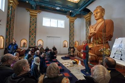 stupa tour inside